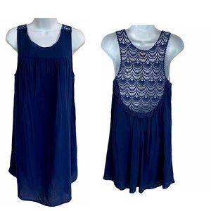 NWT Jasmine & Ginger Women Top Tank Lace Back Med